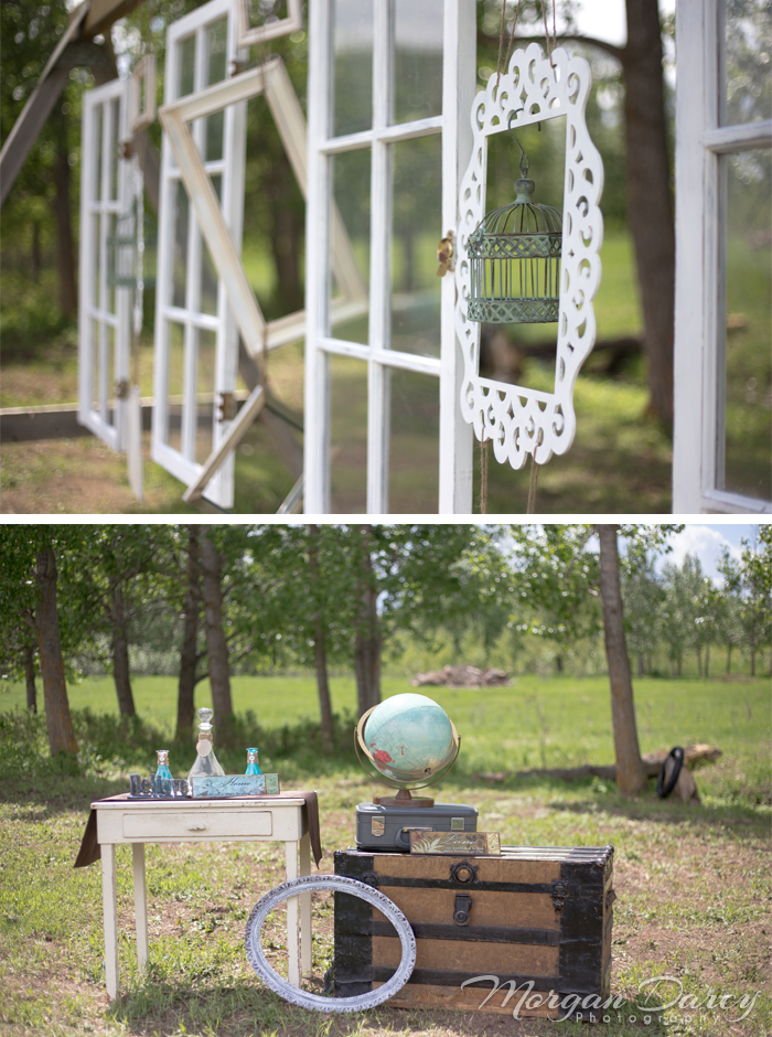 Alberta Wedding Photographer photography photographers romanian wedding farm wedding vintage frames birdcage vintage chest