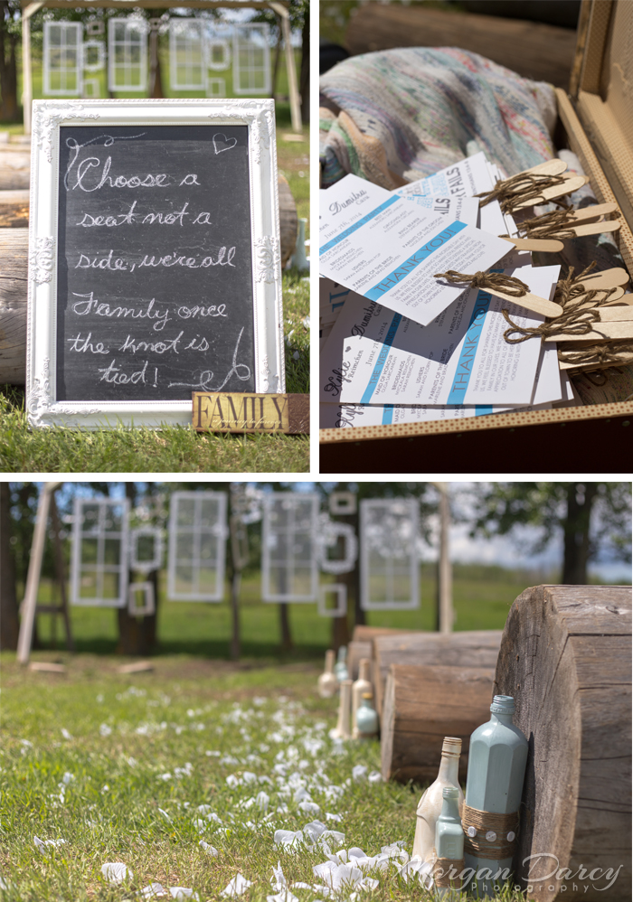 Alberta Wedding Photographer photography photographers romanian wedding farm wedding vintage frames birdcage chalkboard