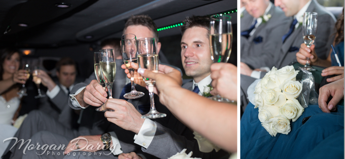 Edmonton wedding photographer photography photographers morgan darcy photography limo champagne bridal party