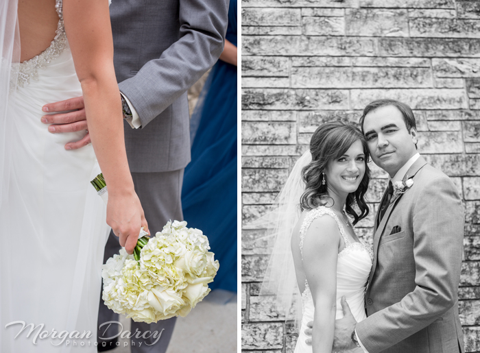 Edmonton wedding photographer photography photographers morgan darcy photography bride groom portraits stone wall university of alberta white rose bouquet