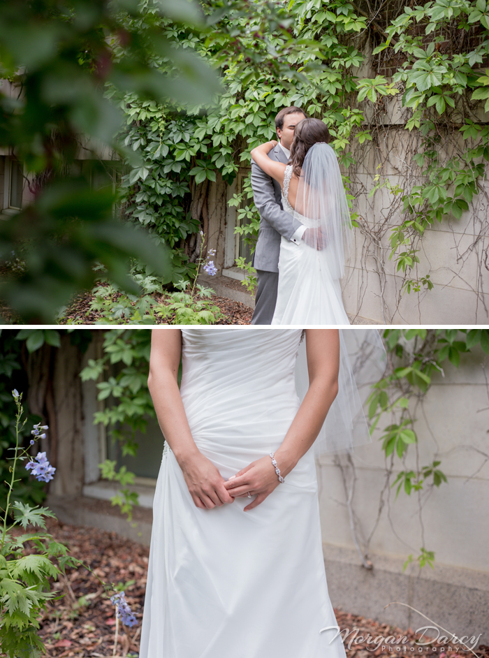 Edmonton wedding photographer photography photographers morgan darcy photography bride groom portraits stone wall university of alberta kiss vines