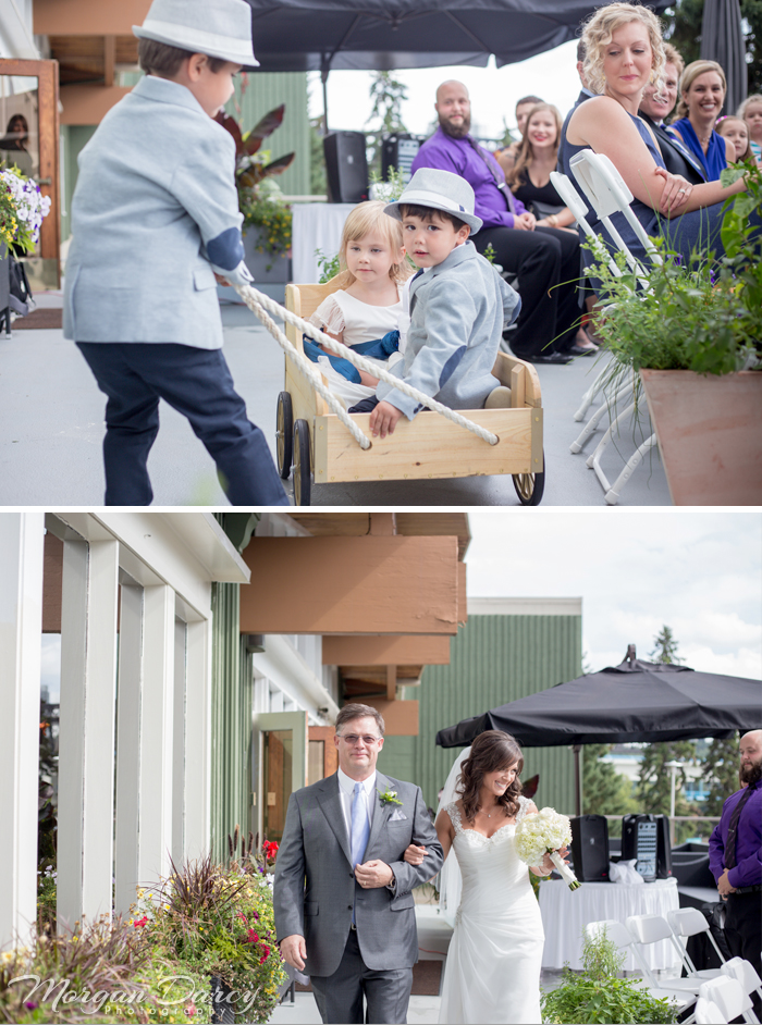 LauraChad blog 22Edmonton wedding photographer photography photographers morgan darcy photography ceremony victoria golf club processional