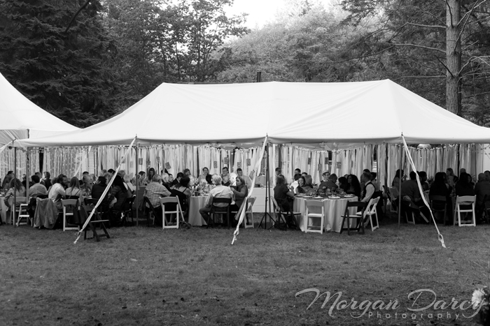 Vancouver wedding photographer photographers photography bowen island forest woodland chic reception